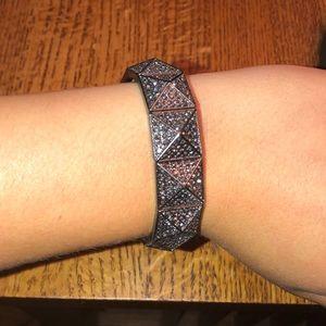 Jewelry - Black rhinestone bracelet